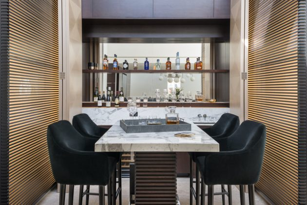 16 Marvelous Contemporary Home Bar Designs You Must Have