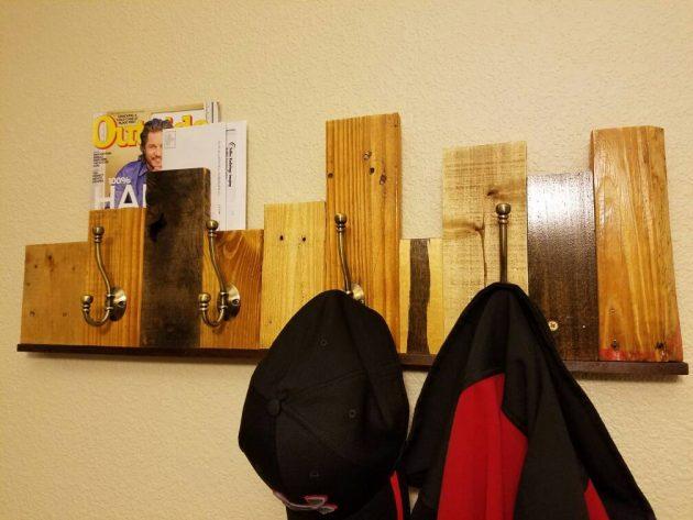 16 Rustic Handmade Pallet Wood Storage Solutions