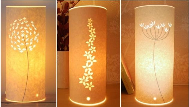 17 Low Cost Paper Lamps That You Can Make In Your Free Time