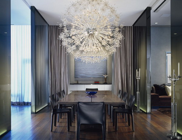 20 Marvelous Dining Room Designs With Chandeliers That Will Amaze You Part 50