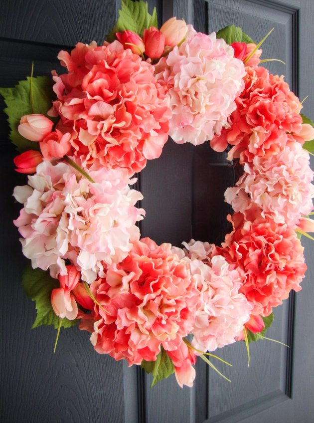 19 Divine Floral Wreath Designs That Are Easy To Make