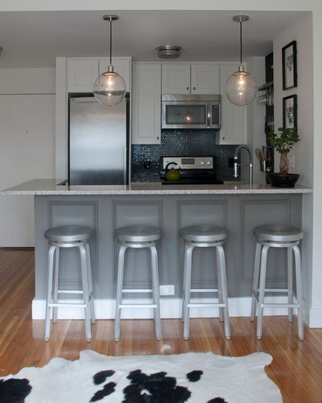 17 Fascinating Big Ideas For Decorating Super Small Kitchens