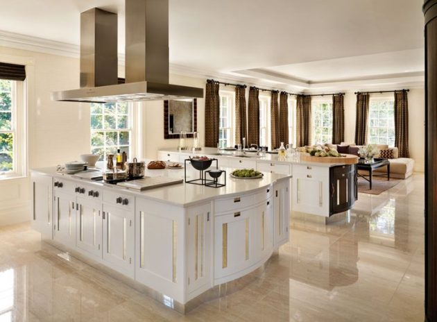 kitchen marble floor 15 delightful kitchen designs with marble flooring for 2291
