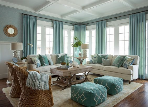 Inspirational Ideas For Decorating Beach Themed Living Room