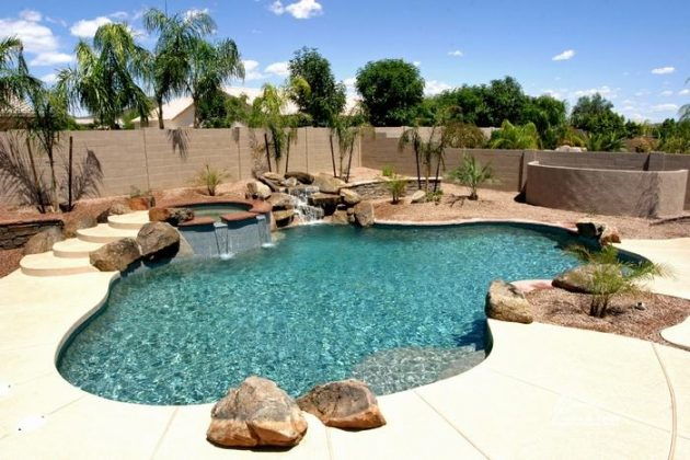 17 Delightful Ideas For Designing Backyard Swimming Pool