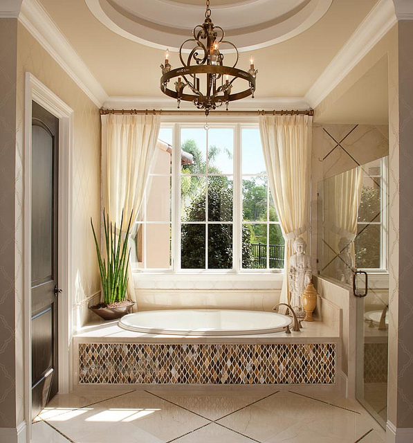 Model Homes Decorating: 18 Inspirational Ideas For Choosing Properly Bathroom
