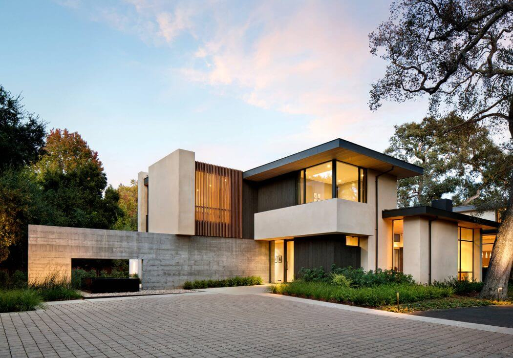 Atherton avenue residence by arcanum architecture in - Residence calistoga strening architects californie ...