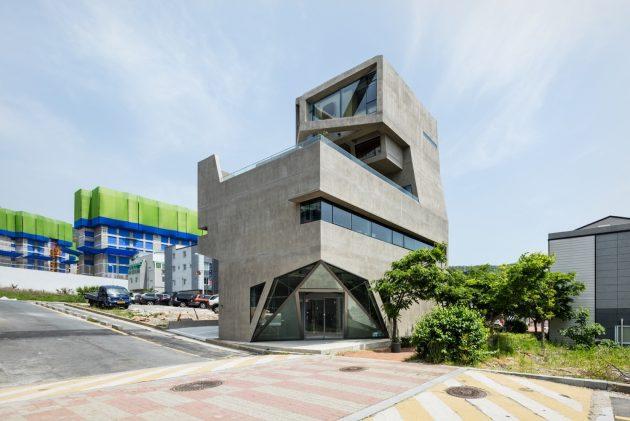 Busan Times by Moon Hoon in Busan, South Korea