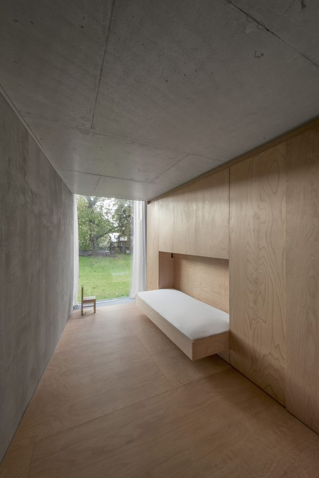 Chameleon House by Petr Hajek Architekti in Prague, Czech Republic