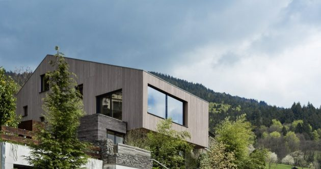 Cloud Cuckoo House by Uberraum Architects in Münstertal, Germany