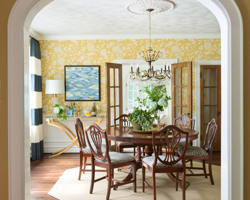 A Touch Of Black. Top 8 Trending Dining Room Styles