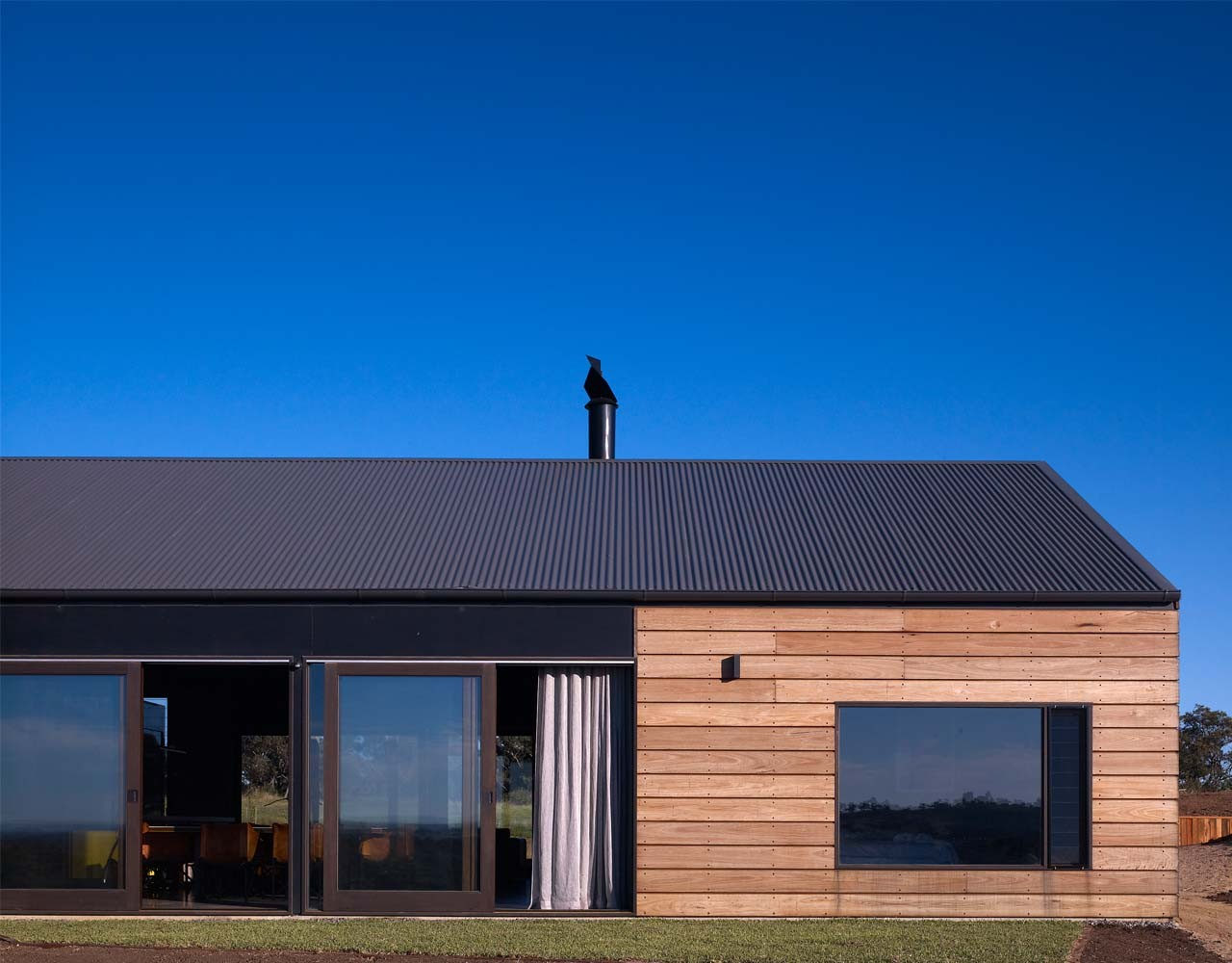 Hill plain house by wolveridge architects in victoria for Architecture design company in australia