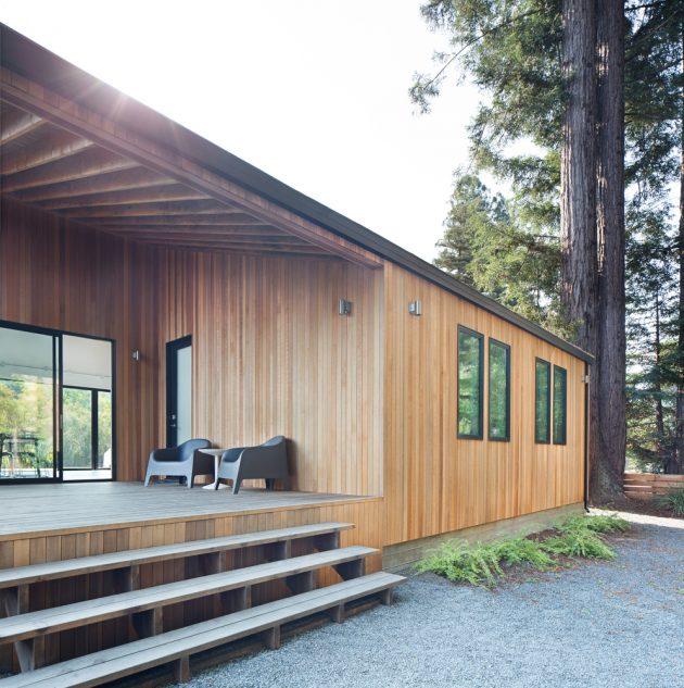 Loewinger Residence by Shevi Loewinger and Ravit Kaplan in Guerneville, California