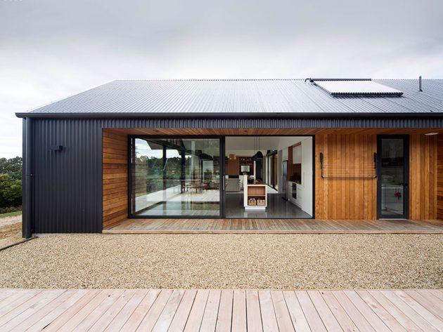 Lookout house by room 11 in tasmania australia for Beach house designs tasmania