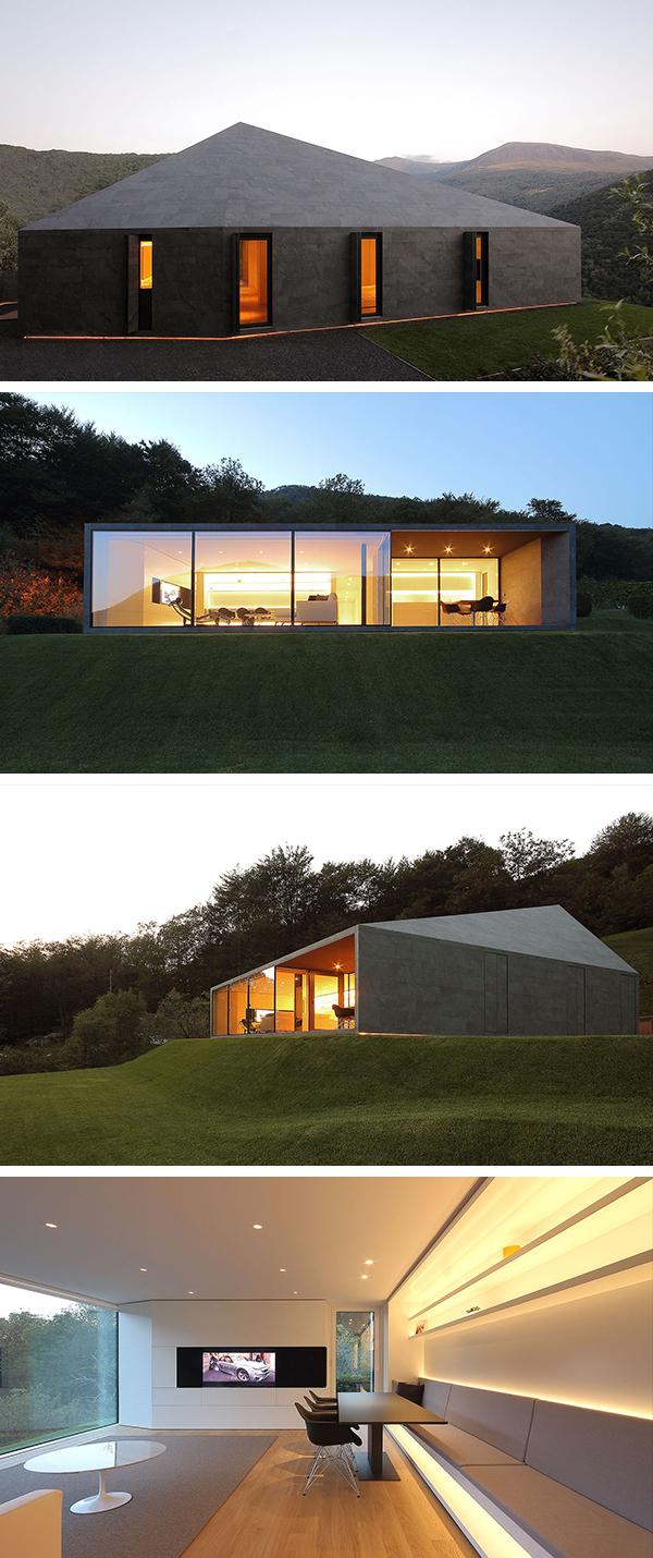 Villa by JM Architecture in Medeglia, Switzerland