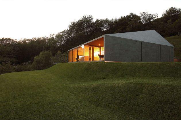 Montebar Villa by JM Architecture in Medeglia, Switzerland
