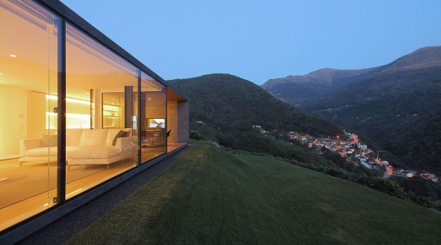 Montebar Villa by JM Architecture in Medeglia, Switzerland