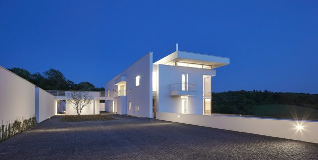 Oxfordshire Residence by Richard Meier & Partners in ...
