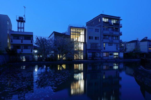Riverside Villa by Atelier Boronski in Kyoto, Japan