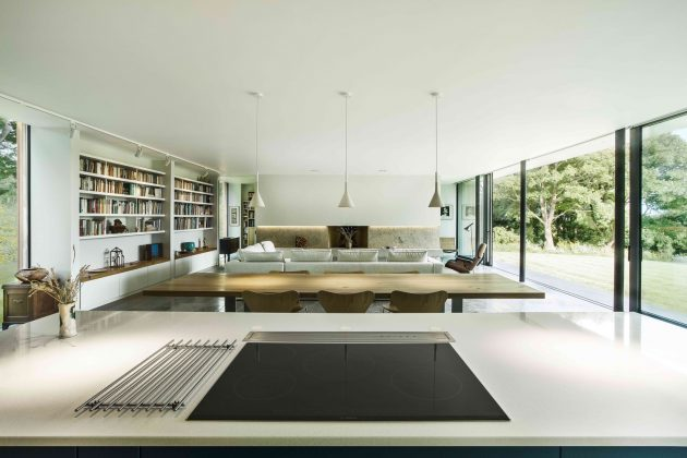 The Quest Residence by Strom Architects in Swanage, UK