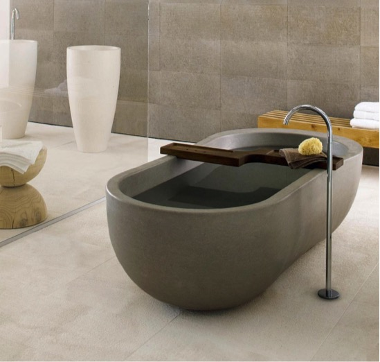 bathtubs and luxury showers