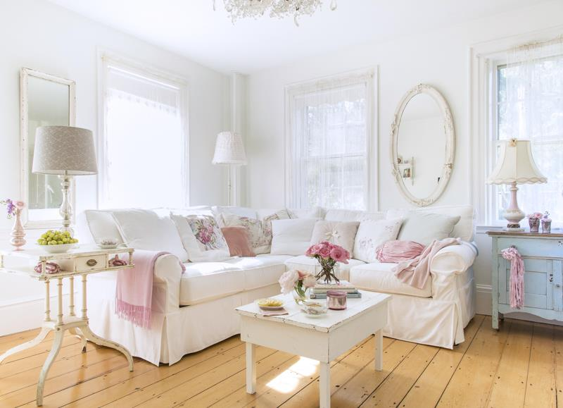 Here\'s How to Do the Shabby Chic Trend
