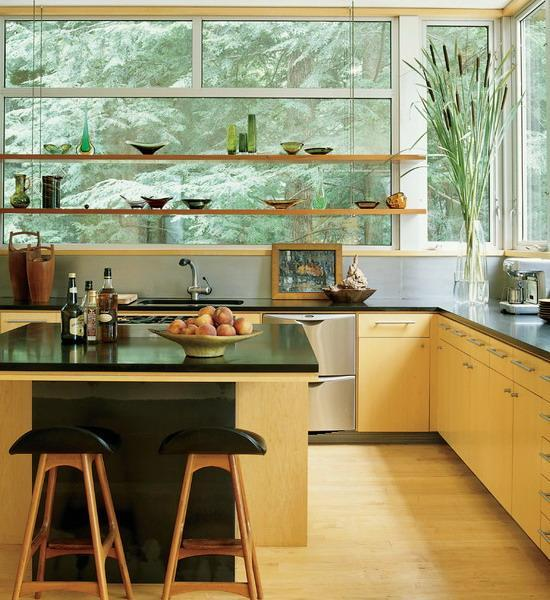 19 Trendy Kitchen Designs With Open Shelves That Will