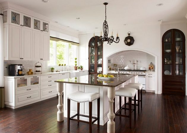 17 Inspirational Ideas For Decorating Traditional Kitchen
