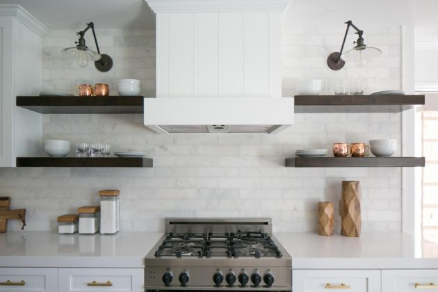 19 Trendy Kitchen Designs With Open Shelves That Will Delight You