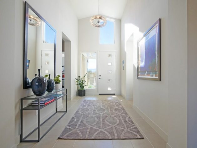 15 Elegant Contemporary Entryway Designs You Will Enjoy Walking In