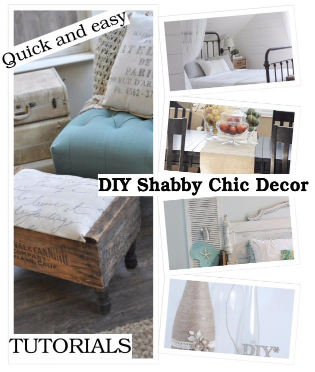 15 Thrifty And Chic Diy Home Decorating Ideas: 15 Lovely DIY Shabby Chic Decor Ideas That Will Save You
