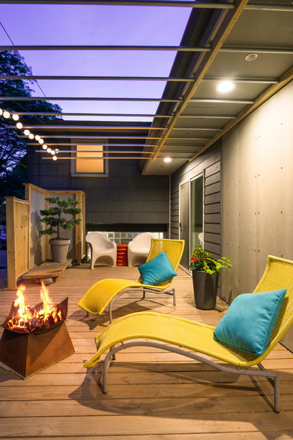 15 Outstanding Contemporary Porch Designs For Your New Courtyard