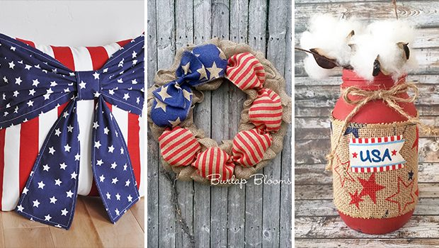 15 Patriotic Handmade Independence Day Decor Ideas