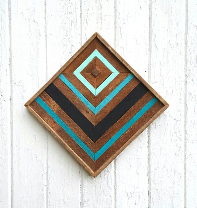 & 15 Truly Creative Handmade Wood Wall Art Ideas That You Must Try