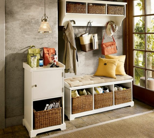 19 Excellent Ideas To Organize The Home With Wicker Baskets