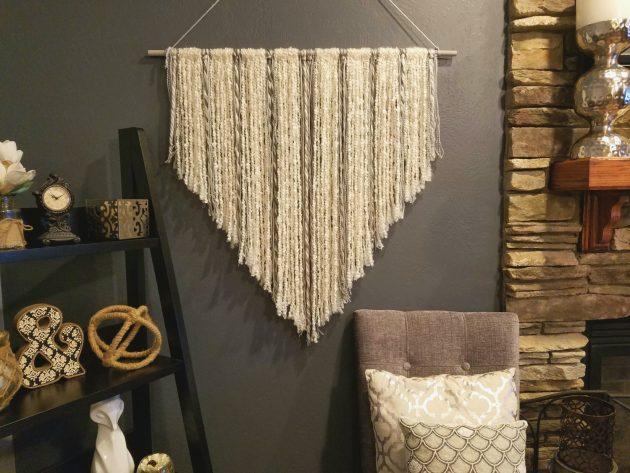 16 Crazy Handmade Weaving Wall Decor Designs You Can DIY