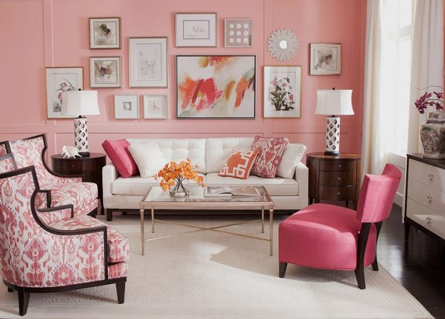 7 Creative Ideas To Revive Your Interior With Pink Color