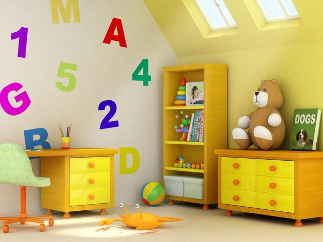 3 Extraordinary Colors For Decorating Ideal Kids Room