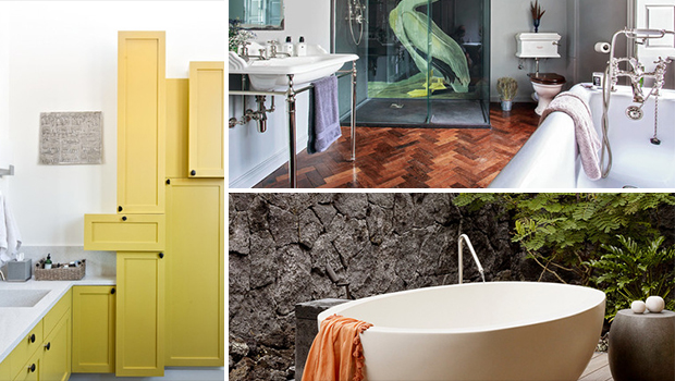 8 alter ego bathrooms that reflect your true self for Bathroom self design