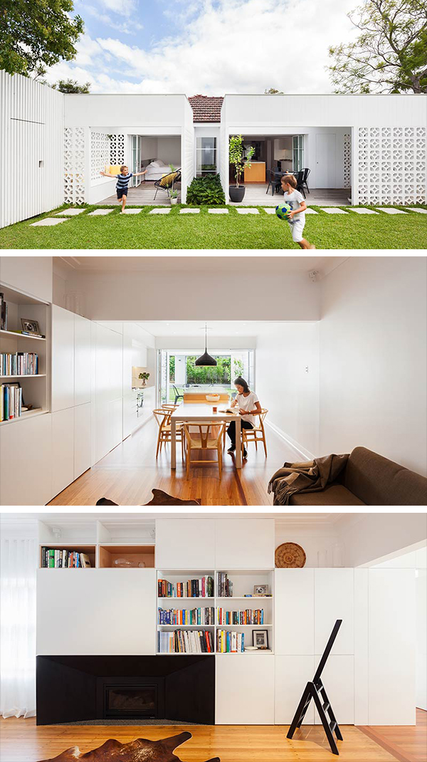 Breeze Block House by Architect Prineas in Sydney, Australia