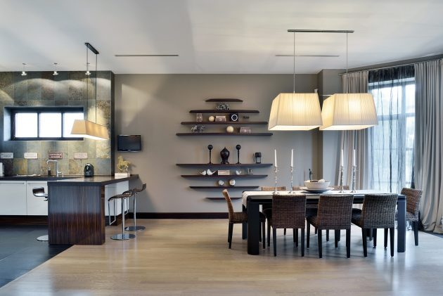 Hard Candy House in Richmond Hill, Ontario by S&A Decor