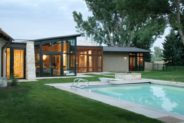 Kennedy Residence by Semple Brown Design in Boulder, Colorado