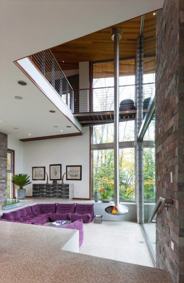 M 22 House By Michael Fitzhugh In Michigan Usa