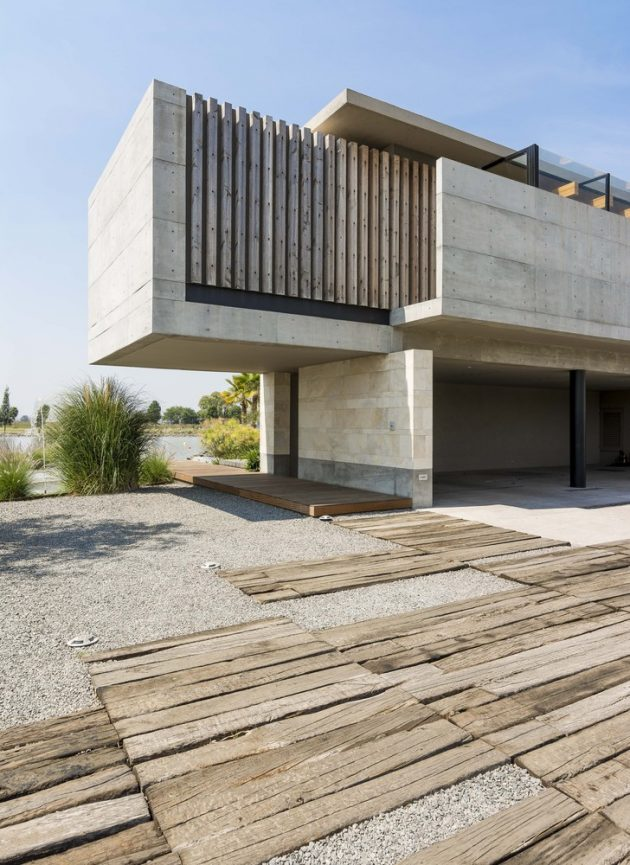 Palermo Lake House by Reims Arquitectura in Querétaro, Mexico