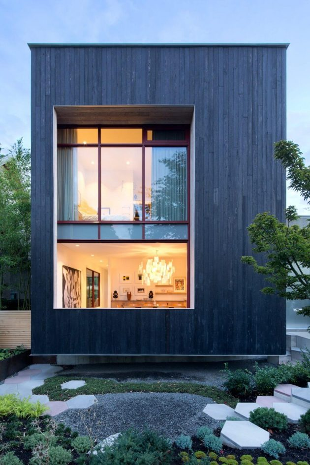 Rough House by Measured Architecture in Vancouver, Canada