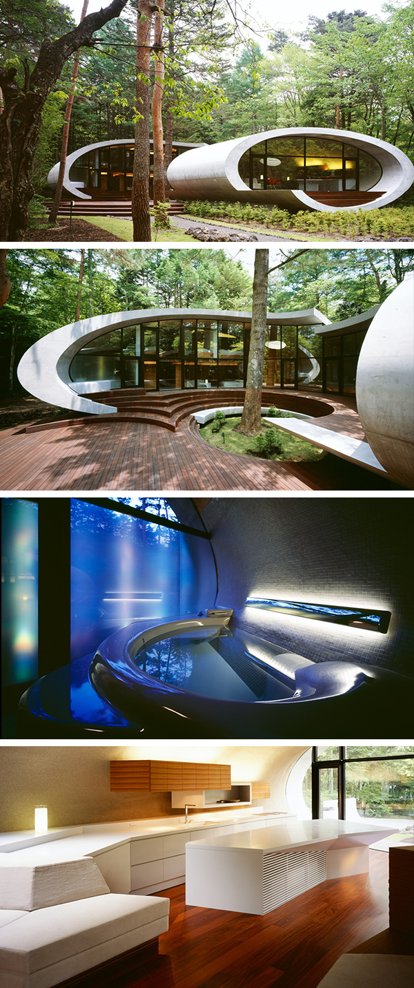Shell House Part - 18: Shell House By ARTechnic In The Karuizawa Forest, Japan