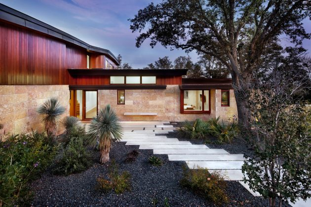 Tree House by Miró Rivera Architects in Austin, Texas