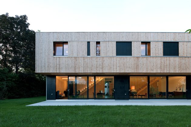 Villas Jonc by Christian vonDüring in Grand-Saconnex, Switzerland
