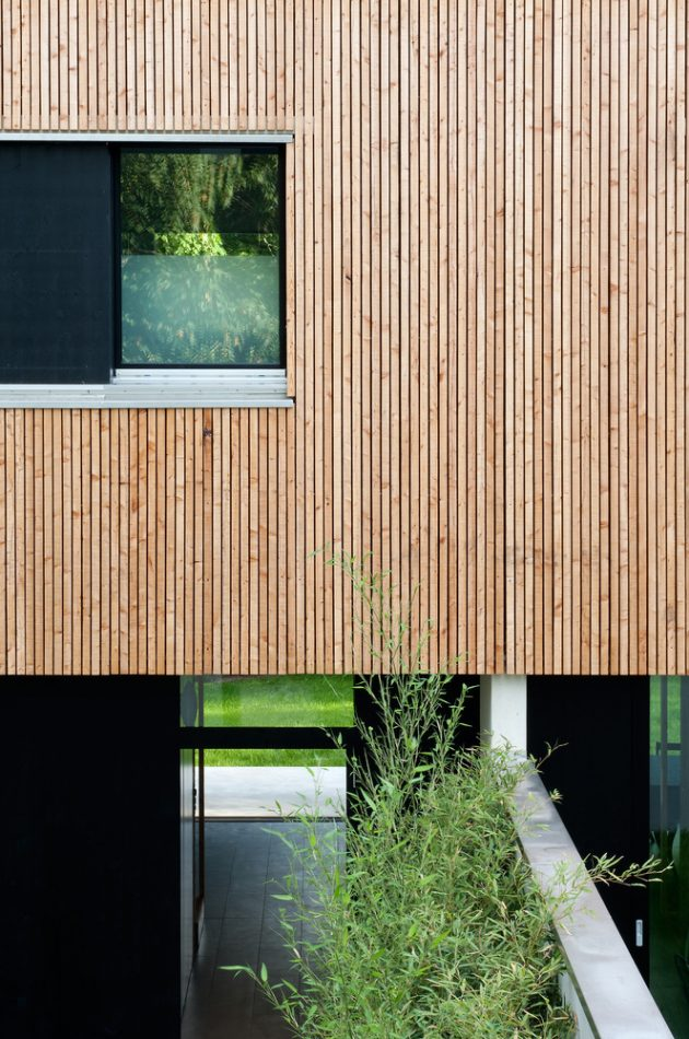 Villas Jonc by Christian vonDüring in Grand Saconnex, Switzerland