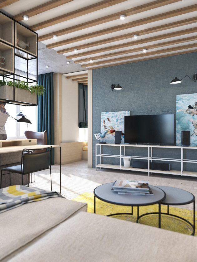 Contemporary Eco Design Apartment in Kyiv, Ukraine